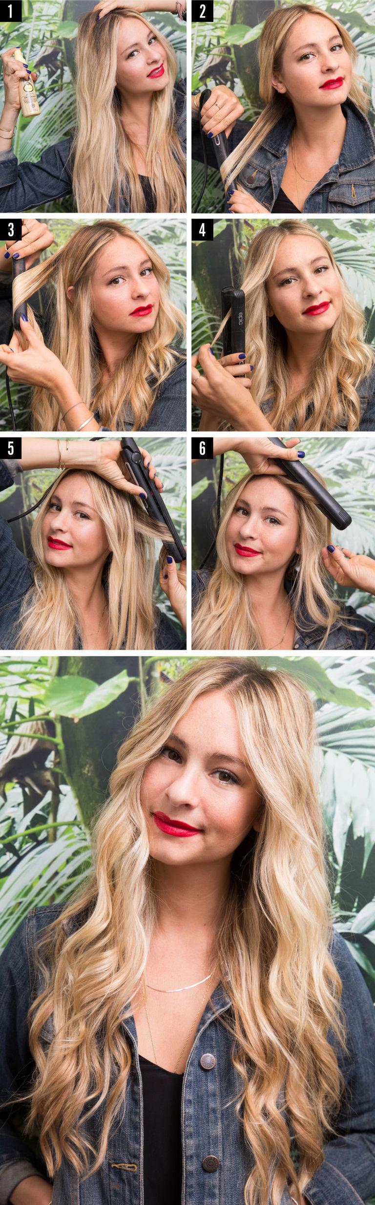 Come fare i capelli mossi morbidi