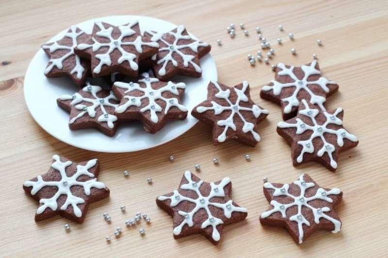 Biscotti Di Natale 1 Uovo.Frollini Fiocchi Di Neve La Ricetta Passo Dopo Passo Per Preparare