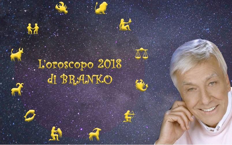 Oroscopo 2018 Le Previsioni Di Branko Segno Per Segno Caffeina