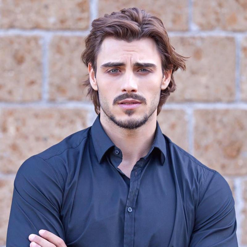 Francesco Monte, cambio look: ''Ho tagliato i capelli per ...