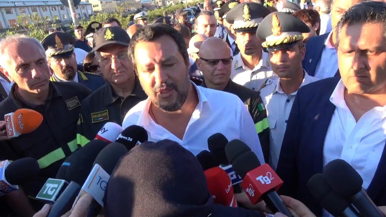 Ponte Morandi, polemica tra Salvini e Atlantia