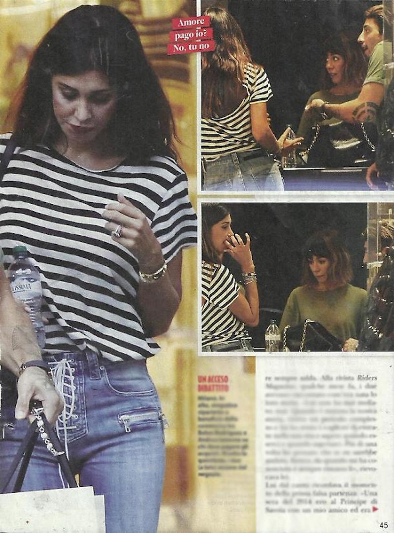 """""""Visto?"""". Belen Rodriguez e Andrea Iannone, le foto prima della rottura. E spunta quel """"dettaglio"""""""