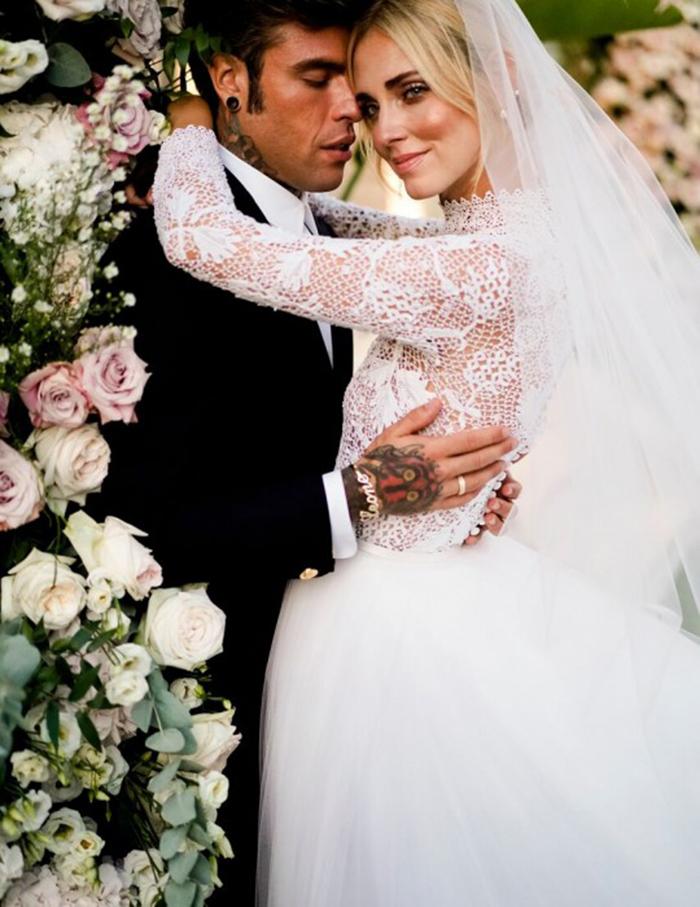 9d4cda123ccc I Ferragnez si sono appena giurati amore eterno con un matrimonio in grande  stile ma manca il tocco finale