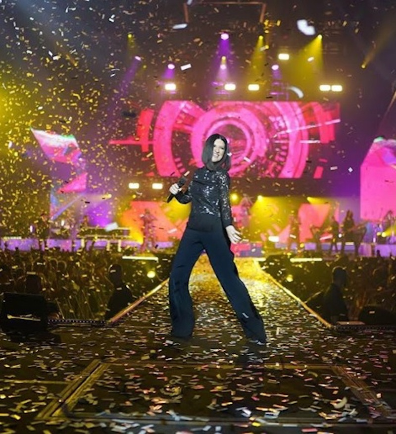 Laura Pausini, stop ai concerti: come sta la cantante