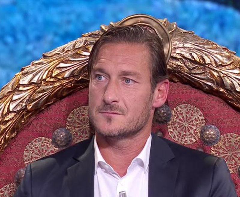 """""""Non sei mio figlio"""". Francesco Totti e il primogenito Chris"""