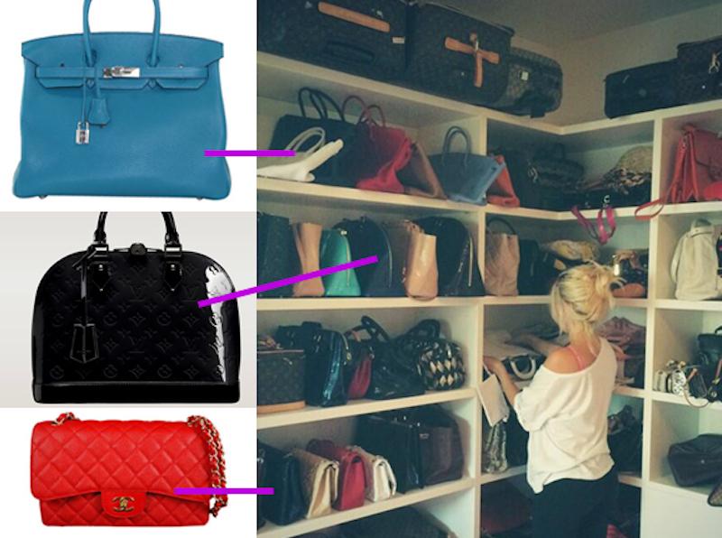 Wanda Nara mostra il suo armadio: che quantità di scarpe e b