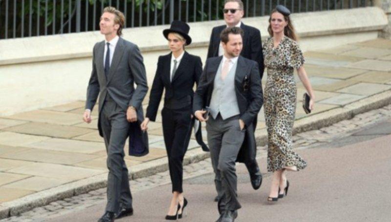 Fashion Matrimonio Uomo : Vestita da uomo al matrimonio di eugenie: ecco chi caffeina magazine