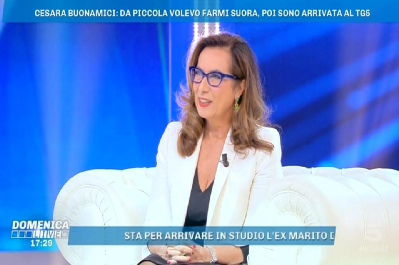 Cesara Buonamici, la bellissima sorpresa di Lamberto Sposini