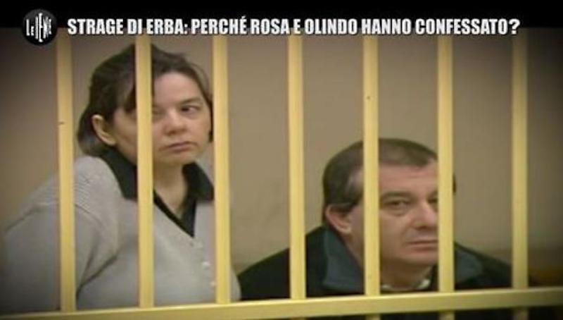 """Le Iene, Rosa Bazzi e Olindo Romano: """"Strage di Erba, si ria"""