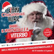 caffeina christmas village 2018 viterbo