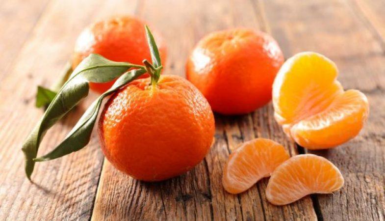 dieta del mandarino