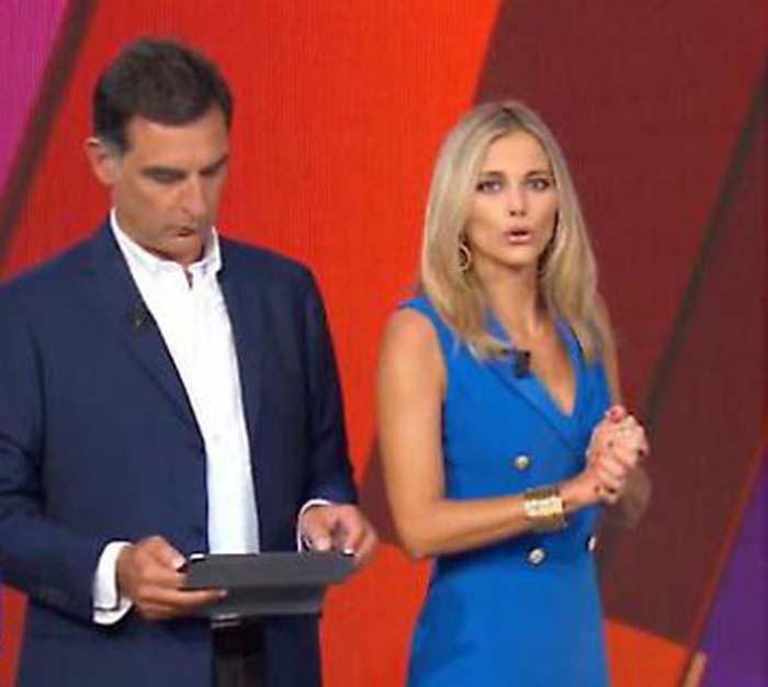 """La vita in diretta, Francesca Fialdini su Tiberio Timperi: """""""
