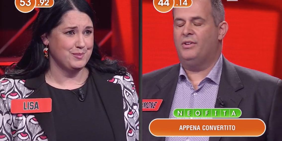 """""""No!"""". L'Eredità, Flavio Insinna zittisce la concorrente. Ge"""