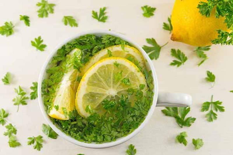ricetta di prezzemolo e limone per perdere peso