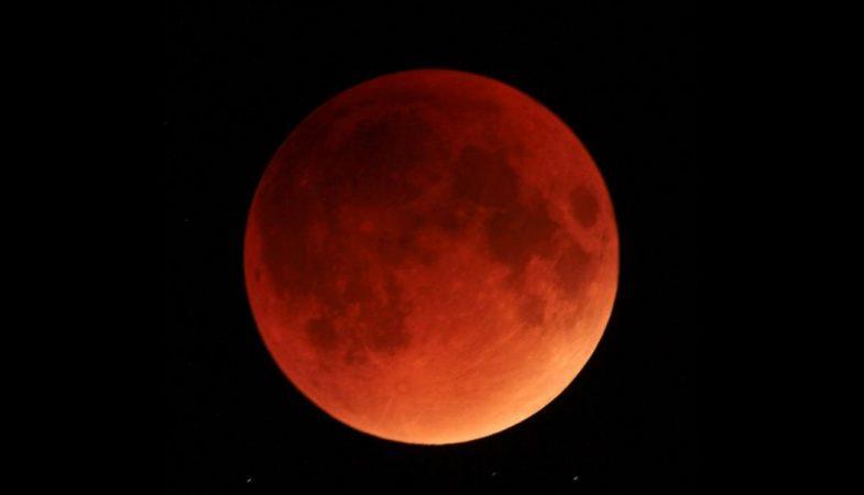 eclissi lunare totale 21 gennaio 2018