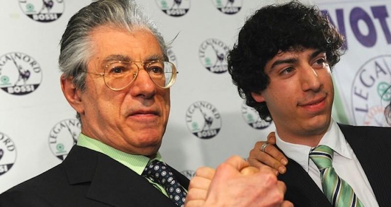 Il nuovo look di Renzo Bossi, l'ex trota (figlio di Renzo)