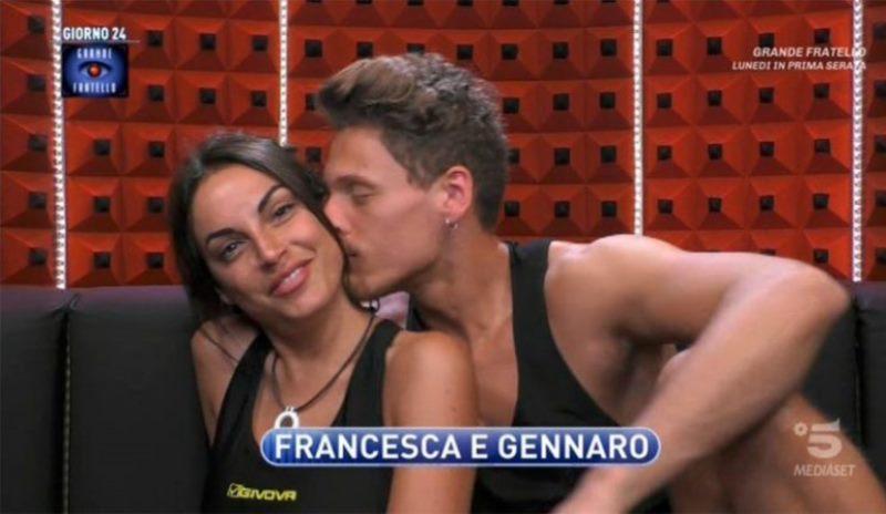 """""""Notte folle"""". Francesca De André e Gennaro, cosa è successo finito il GF"""