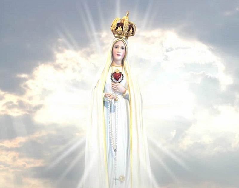 Madonna appare sulla porta di una casa. Mistero nella città