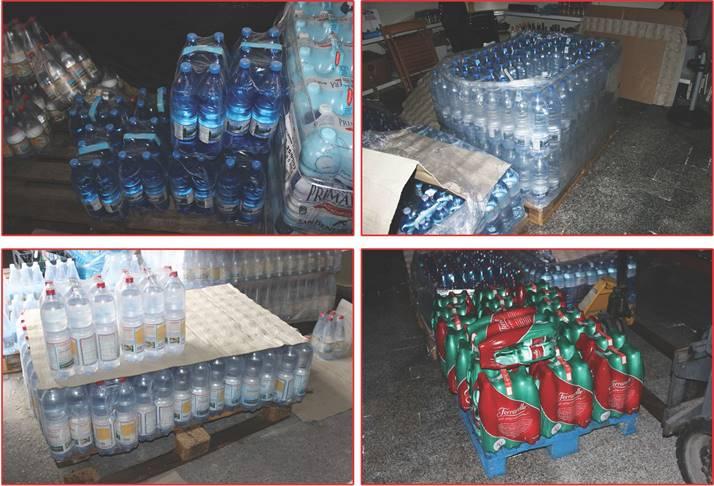 Oltre 4mila bottiglie di plastica lasciate al sole. Supermer