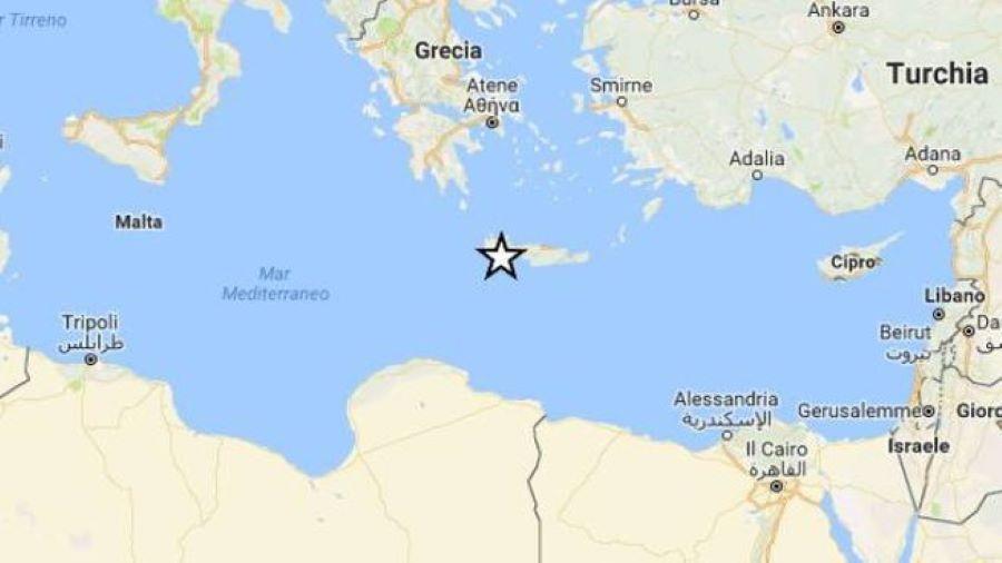 terremoto grecia isola samos