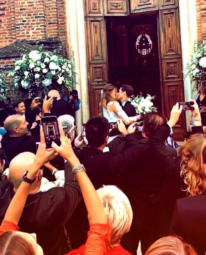 Cristina Chiabotto, due abiti da sposa al suo matrimonio: visto il secondo?