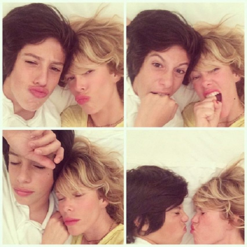 """Alessia Marcuzzi, quant'è cresciuto il figlio Tommaso: """"Semb"""