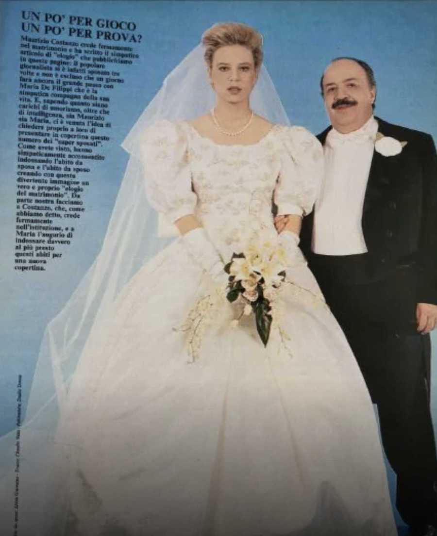 Maria De Filippi e Maurizio Costanzo, la foto bufala delle n
