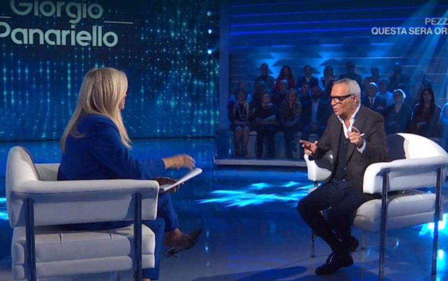 Giorgio Panariello mai visto cosi in tv: a Domenica In si sc