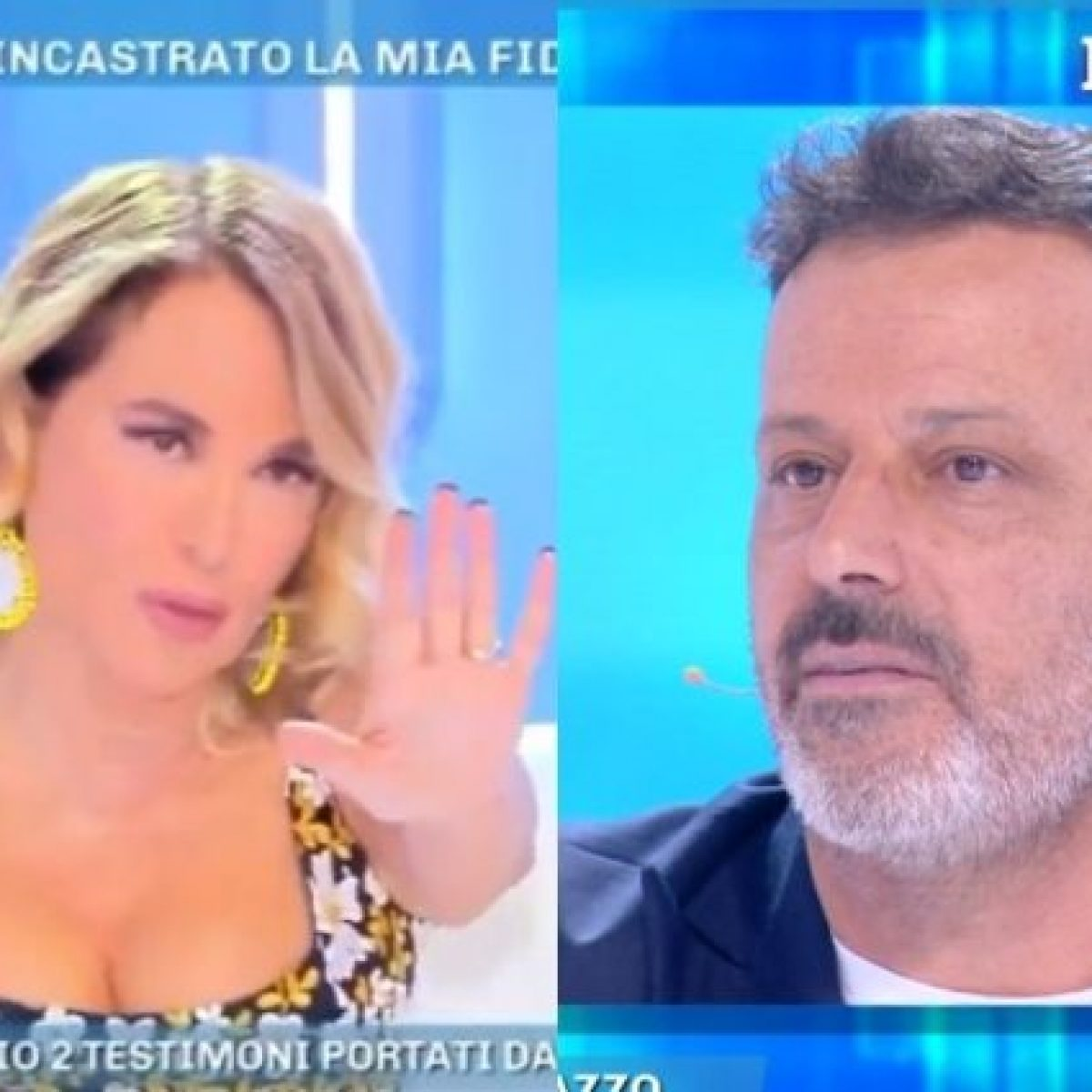 """Adesso parlo io!"". Barbara D'Urso zittisce Kikò Nalli a Dom"