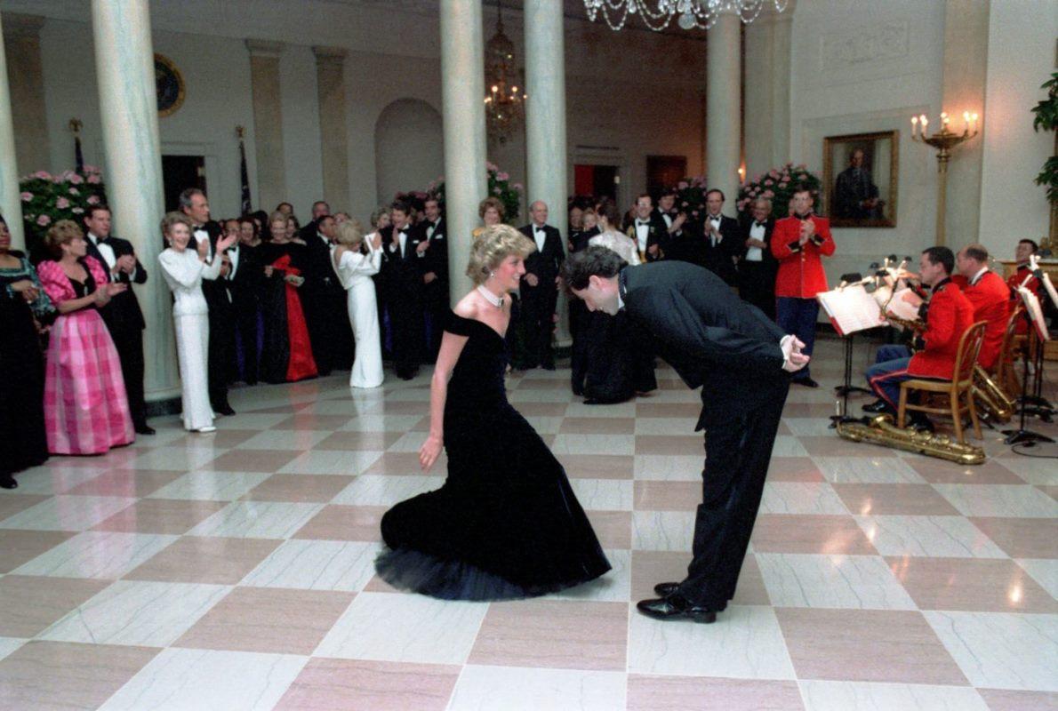 Lady Diana, il mitico abito del ballo con John Travolta all'