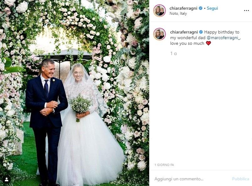 """""""Auguri amore nostro!"""". Chiara Ferragni, festa grande per il"""