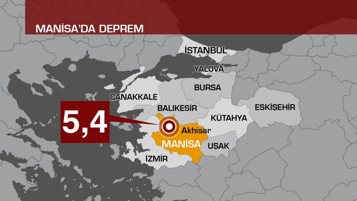 Fortissimo terremoto in Turchia: magnitudo 5,4 della scala R