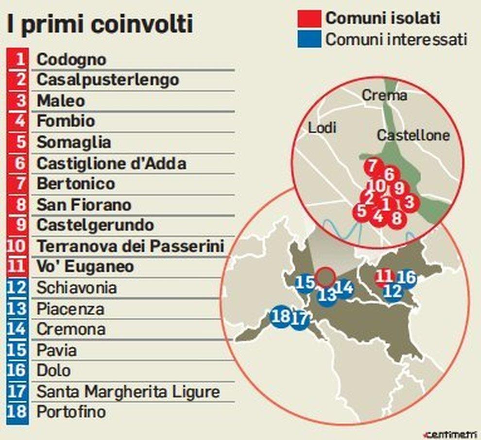 Coronavirus, quarto morto in Italia. E i contagi continuano