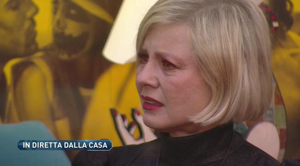 """""""Lei è il demonio"""". GF Vip, Antonella Elia terrorizzata da F"""