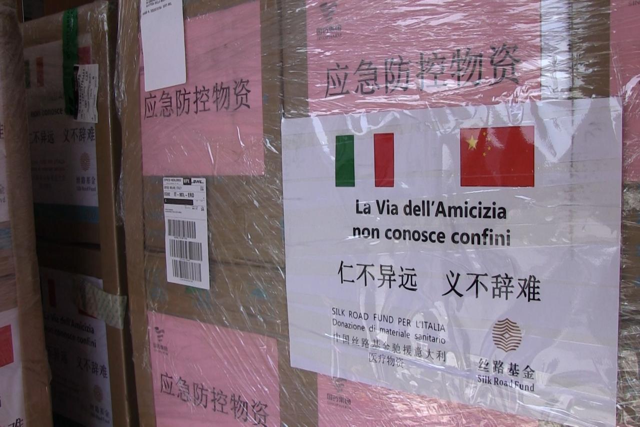 Coronavirus, Silk Road Fund dona all'Italia 20mila mascherin