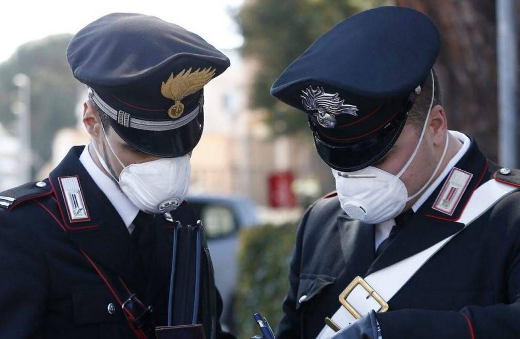 Cassa depositi e prestiti dona 2 mln mascherine a carabinier