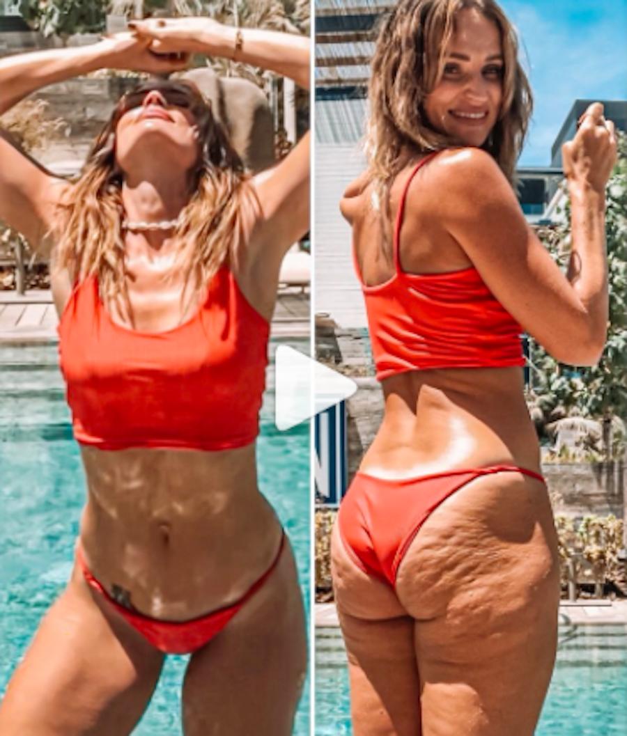Come Nascondere La Cellulite In Foto Il Trucco Di Danae Mercer