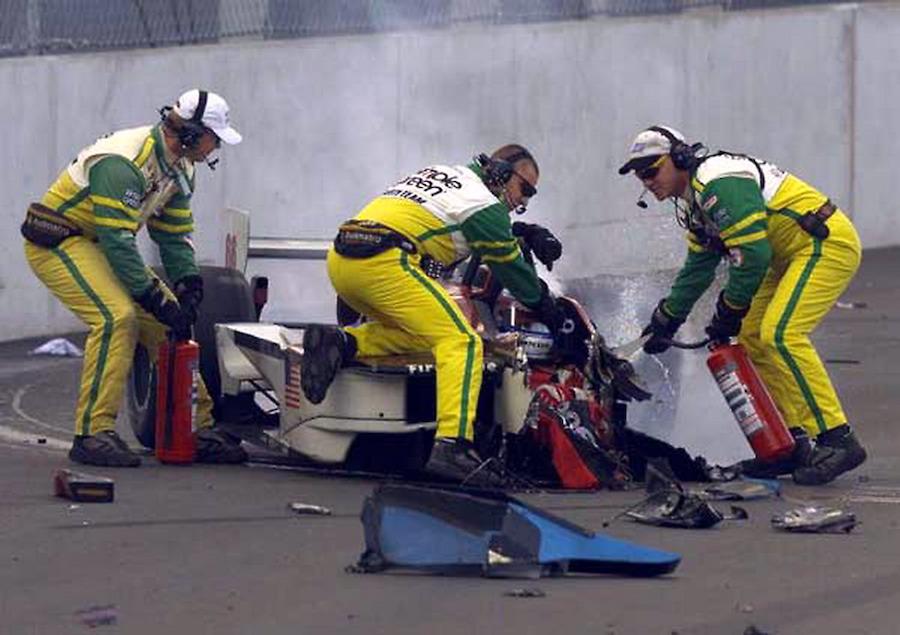 Zanardi Unfall 2001