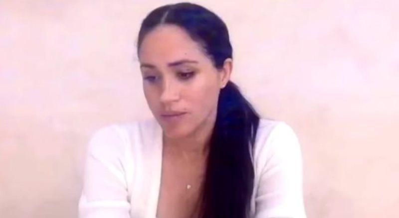 Meghan Markle provata e con le lacrime agli occhi nel nuovo