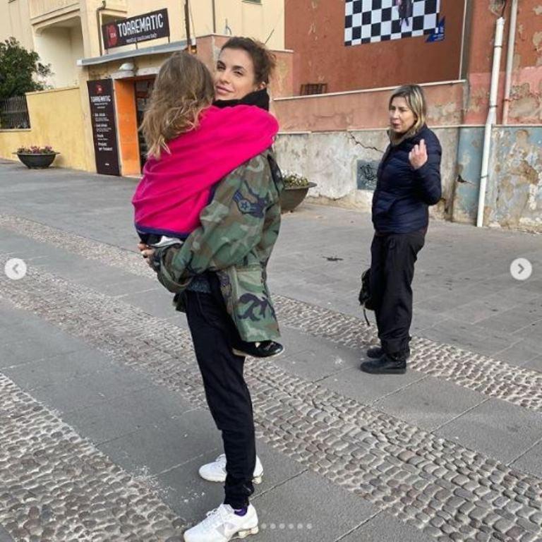 """""""Ecco perché ora mostro mia figlia"""". Elisabetta Canalis svel"""