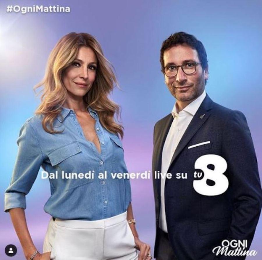 Furia Giancarlo Magalli: la 'coltellata' ad Adriana Volpe è