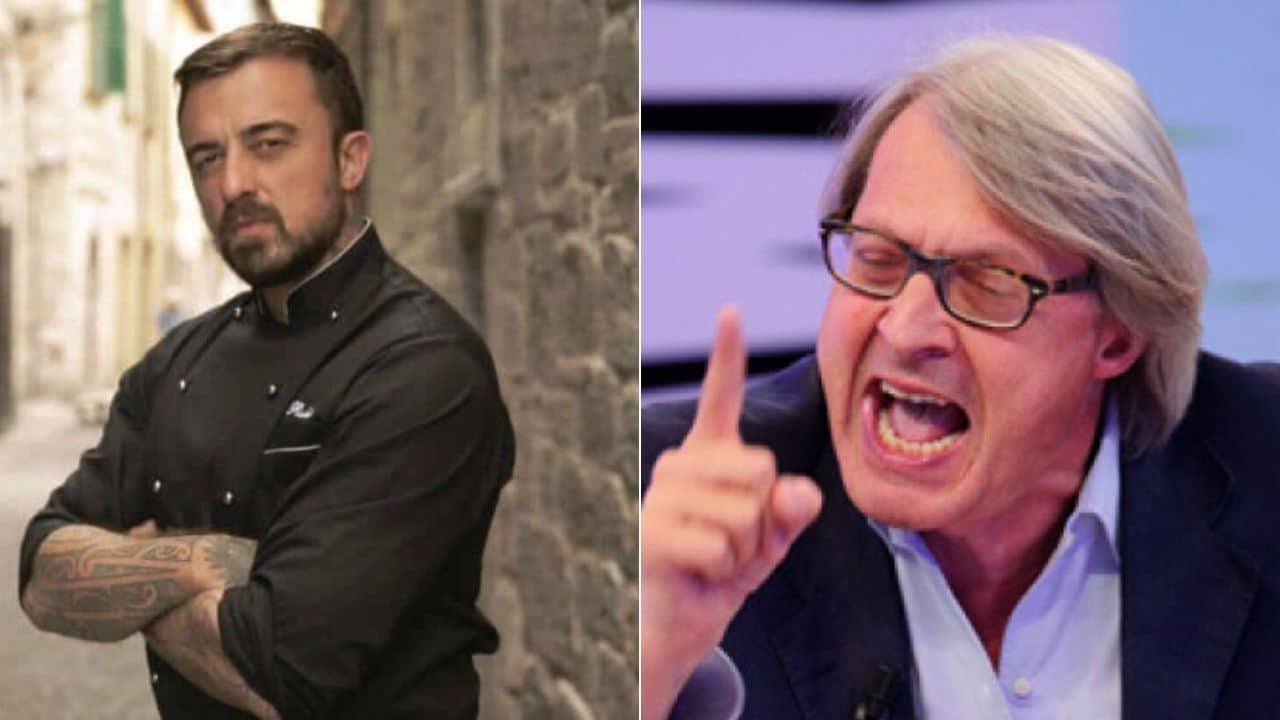 """""""Manco oggi hai sco**"""". Chef Rubio lapidario contro Vittorio"""