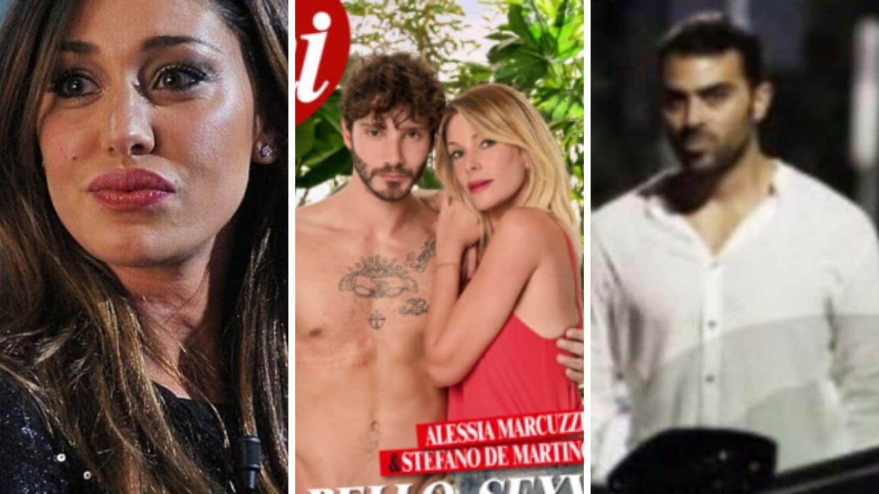 """""""Adesso siediti…"""". Belen Rodriguez, la stoccata a Stefano De"""