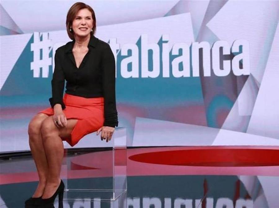 """Mauro Corona contro Bianca Berlinguer: """"Stai zitta, gallina"""". Poi lascia la trasmissione (VIDEO)"""