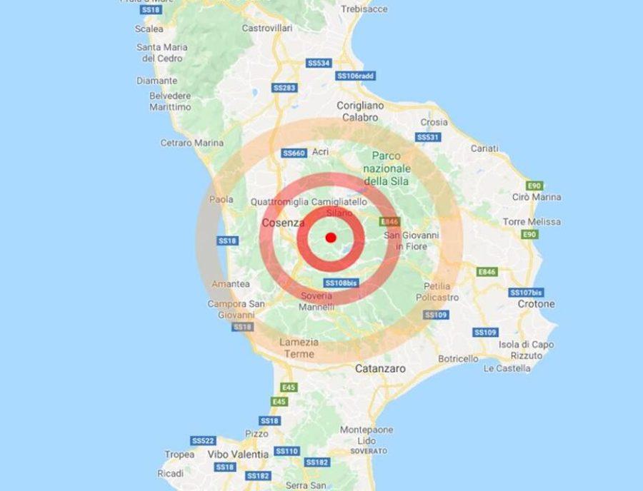 L'Italia trema, due scosse di terremoto svegliano il Sud: paura tra la popolazione