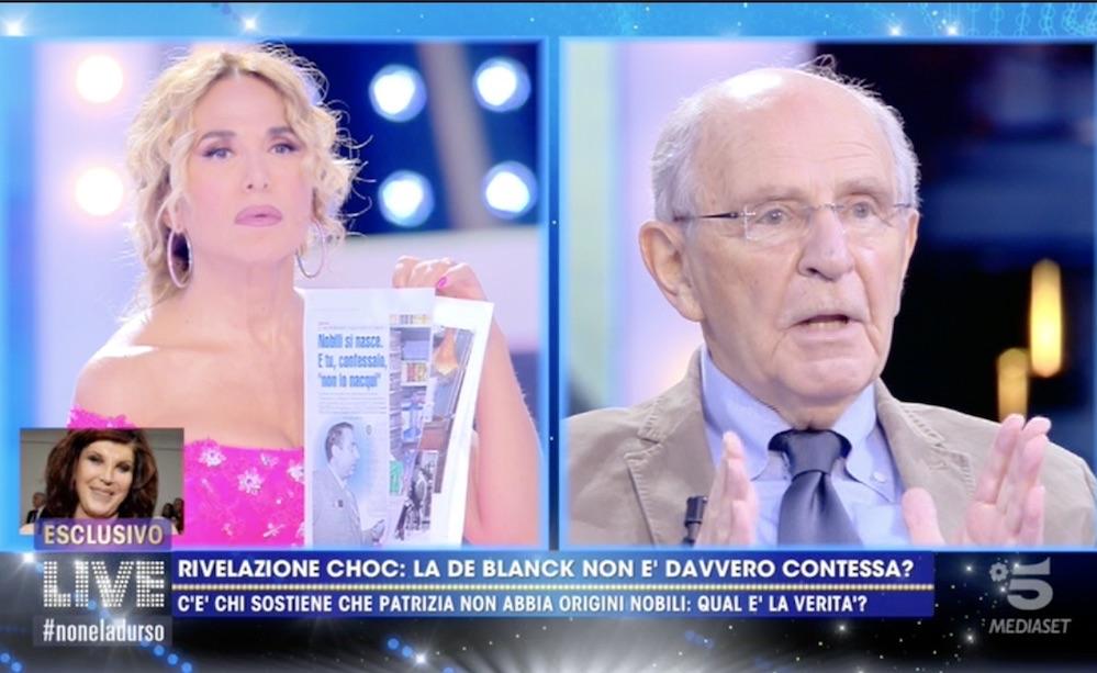 """""""Infamie…"""". Giada De Blanck contro Barbara D'Urso: """"Non potevo stare zitta"""". Succede di tutto per la contessa"""