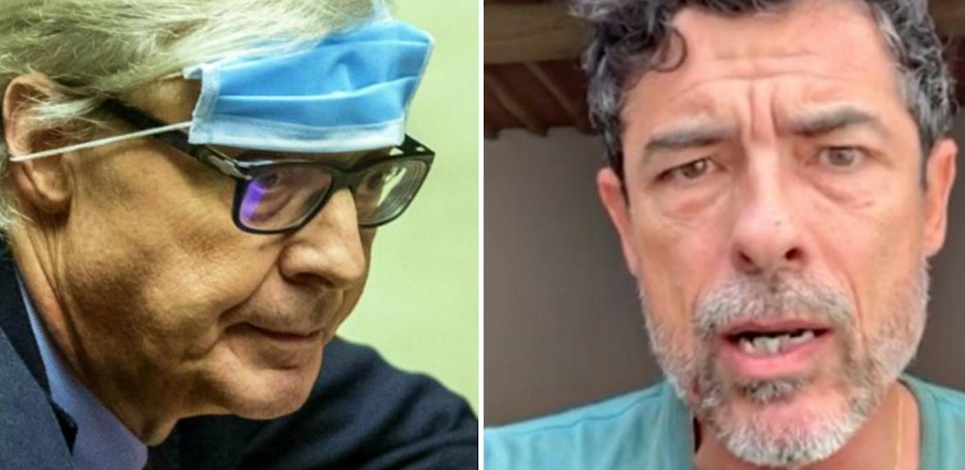 """""""A fare in c..."""". Alessandro Gassmann e Vittorio Sgarbi, volano gli insulti. Cosa li ha fatti indiavolare"""