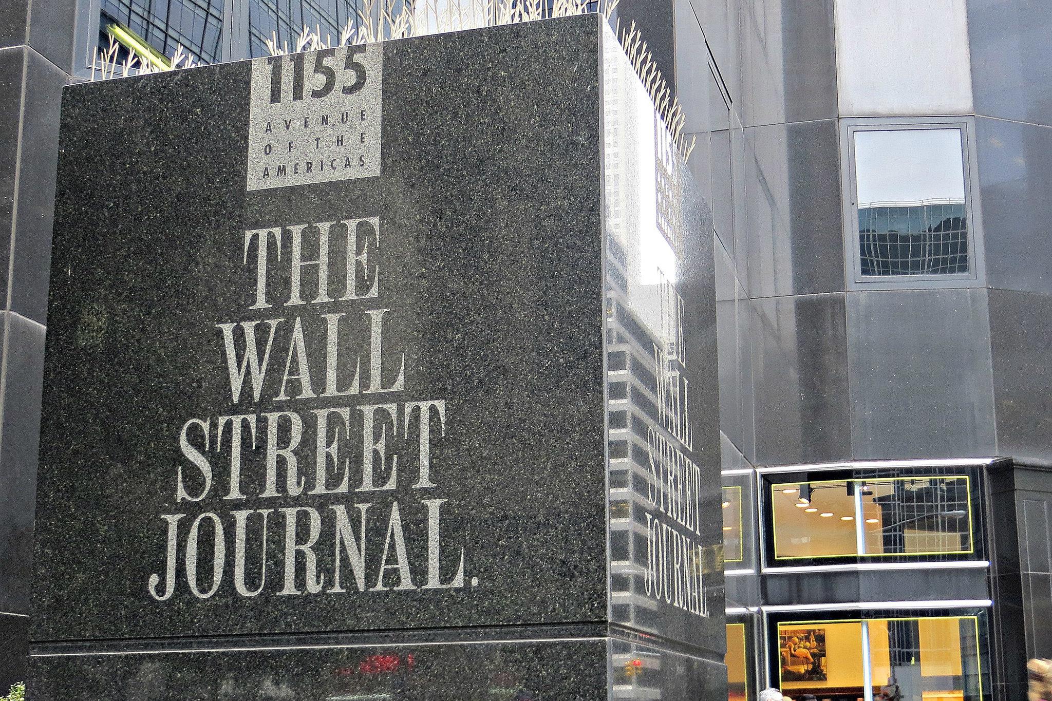 wall street journal digitale wsj noted