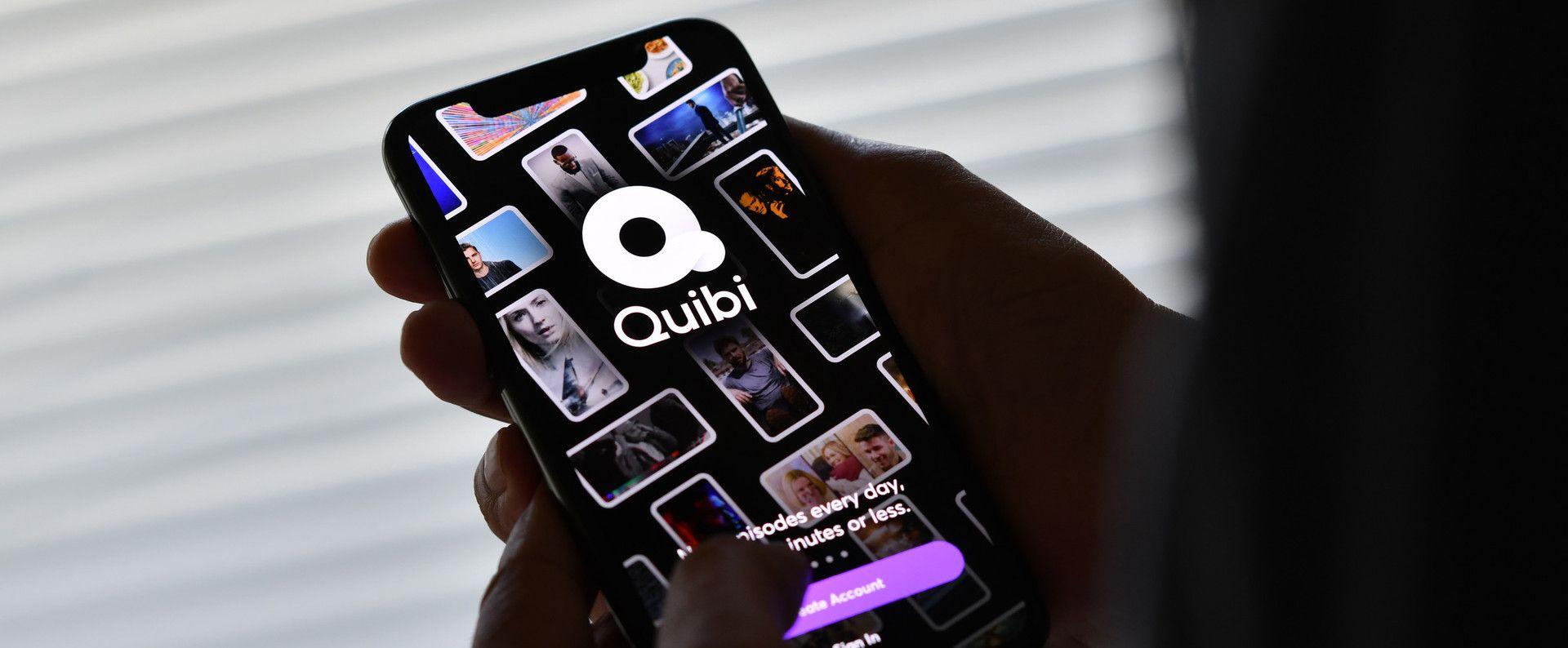 quibi chiude app Jeffrey Katzenberg