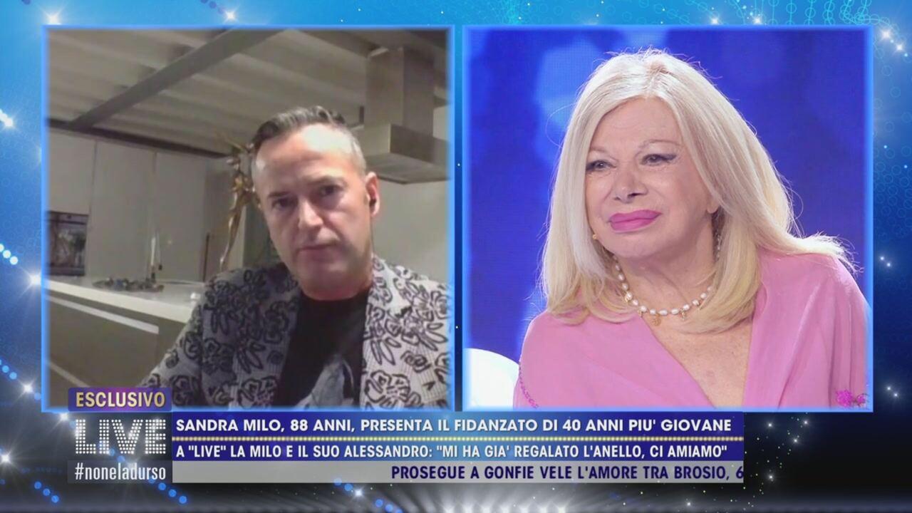 """""""Il sesso tra noi…"""". Sandra Milo e il fidanzato Alessandro (37 anni più giovane): """"Va benissimo così"""""""